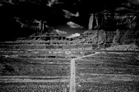 """Monument Valley"", ""black & white"", ""Marco Bertazzoni"", bertazzoni, landscape, scenic, artistic, USA, Arizona, highway, nature, park"