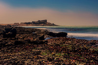 """Cape Dias"", Namibia, Luderitz, ocean, sand, waves, foam, ""long exposure"", wind, storm, ""South West Africa"",  seashore, beach, Nikon, Bertazzoni, lighthouse, navigation, colony,"