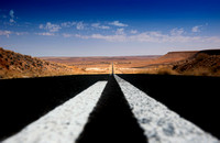 "highway, scenic, landscape, Namibia, Africa, geometry, Nikon, Bertazzoni, road, panoramic, details, ""long way"""